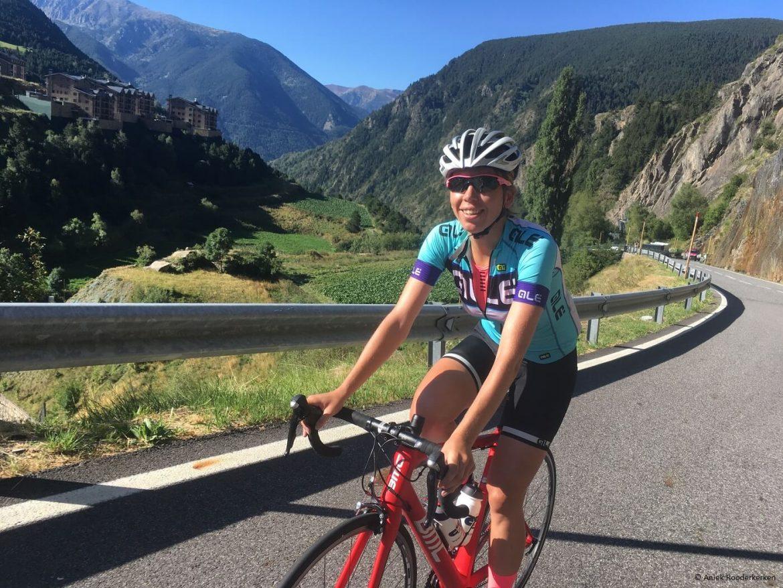 Cycling in Andorra: Coll de Ordino