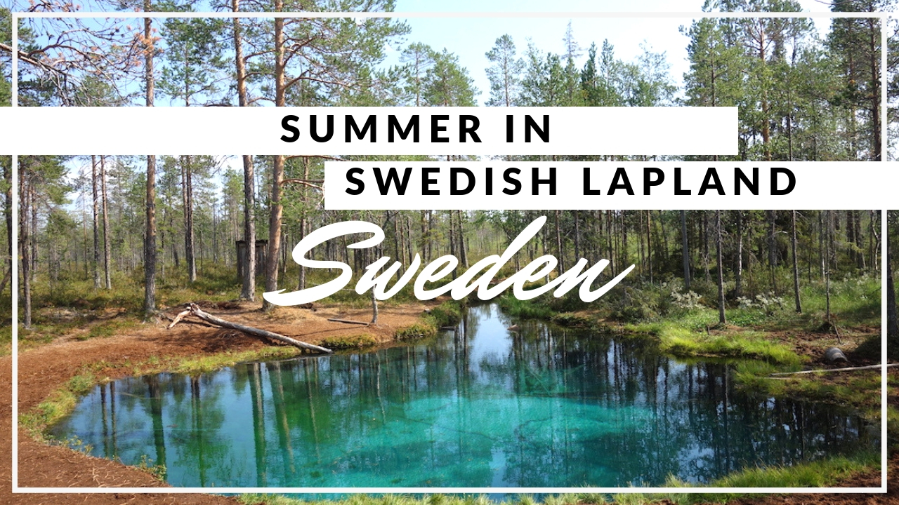 Summer in Swedish Lapland